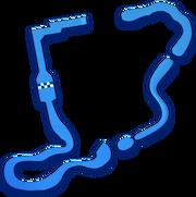 MK8 DS Cheep Cheep Beach map