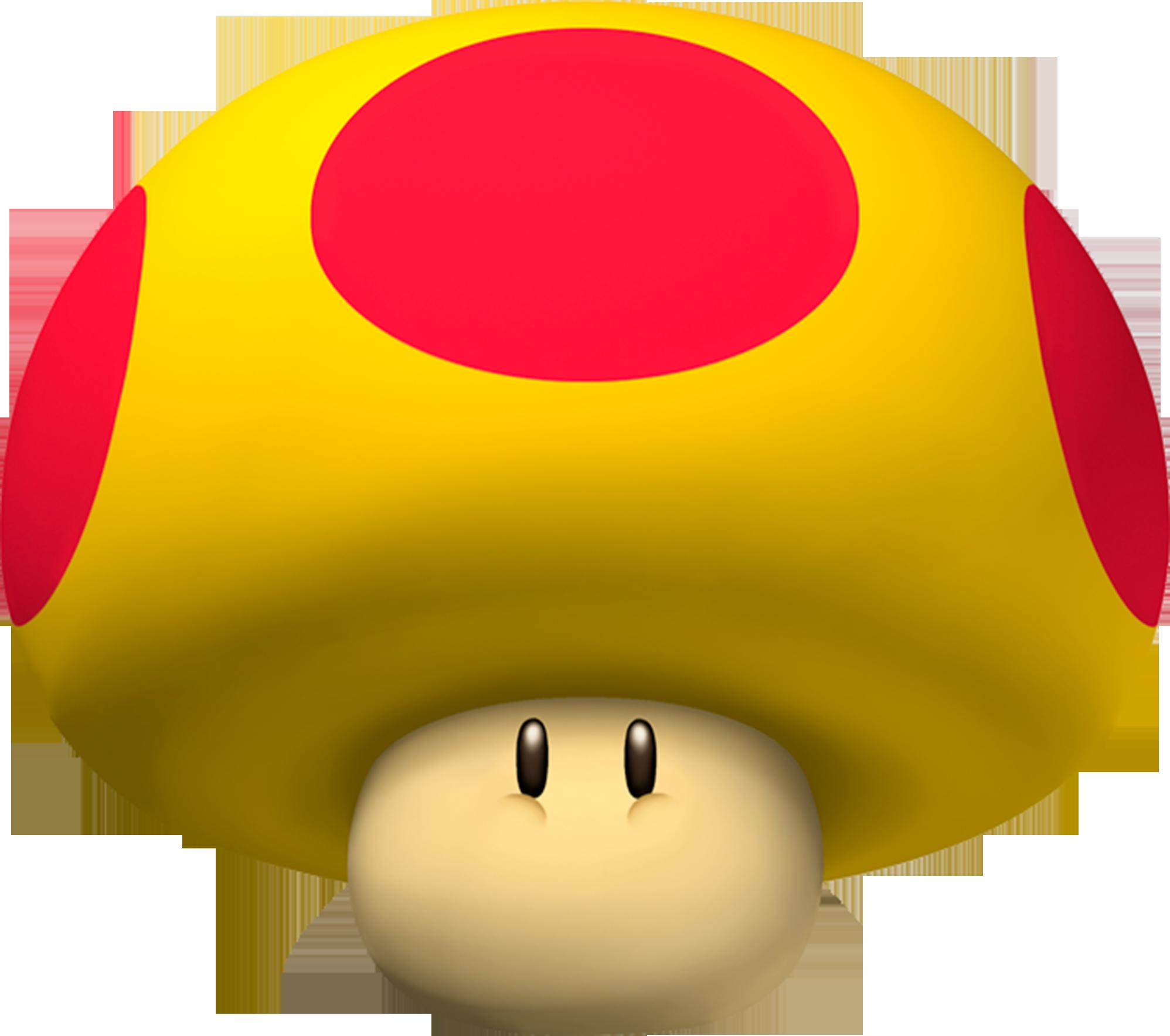 mario kart mushroom name