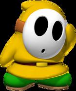 Yellow Shy Guy - Mario Kart X