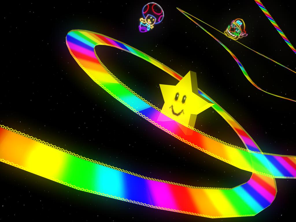 Rainbow Road N64 Mario Kart Racing Wiki Fandom