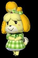 Spring Isabelle - Mario Kart X