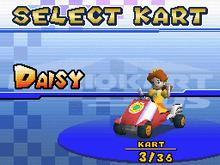 MKDS Daisy in Light Dancer Screenshot