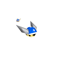 Spiny Shell Sprite and Model from Mario Kart DS.