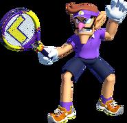 Tennis Waluigi - Mario Kart X