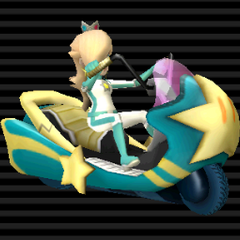 Twinkle Star (Shooting Star), a Rosalina themed bike