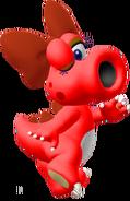 Red Birdo - Mario Kart X