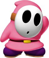 Pink Shy Guy - Mario Kart X