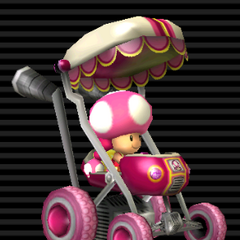 Toadette's <b>Booster Seat</b>.