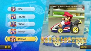 Engine Classes (Mario Kart 8)