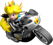 Bowsette On Mach Bike - Mario Kart Insanity