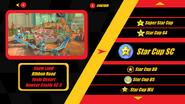 Mario Kart X Track Select GBA