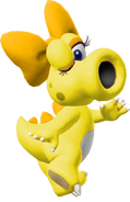 Yellow Birdo - Mario Kart X