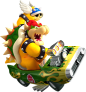 Bowser Art - Mario Kart Wii