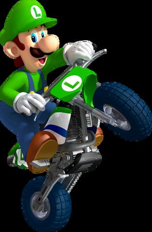 File:Luigi Artwork - Mario Kart Wii.png