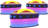 Pinball Bumpers - Mario Kart X