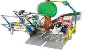 K'NeX Mario VS Delfino Oak Tree Building Set (2)