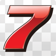 Lucky 7 Artwork - Mario Kart 7