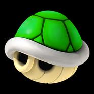 Green Shell Icon - Mario Kart Wii