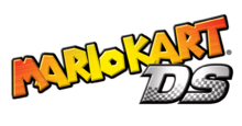 Mario Kart DS beta logo