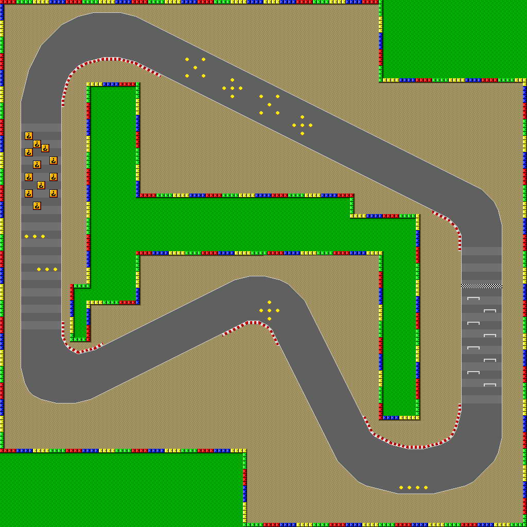 maps kart Image   SNES Mario Circuit 1 map.png   Mario Kart Racing Wiki  maps kart