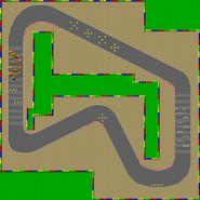 SNES Mario Circuit 1 map