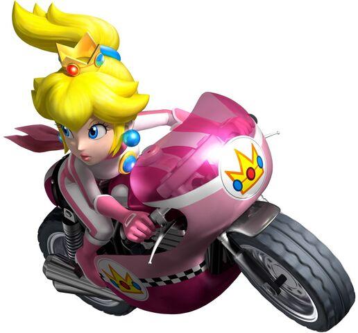 File:Mario Kart Wii - Peach motorbike.jpg