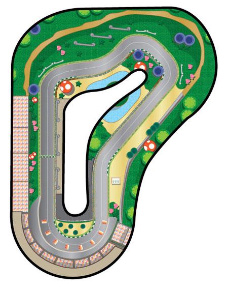 Luigi Circuit Mario Kart Wii Wiki Fandom