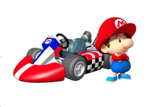 MKW Artwork Baby Mario
