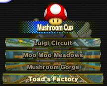 Mushroom Cup Tracks