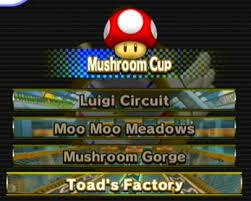 Mushroom Cup Mario Kart Wii Wiki Fandom