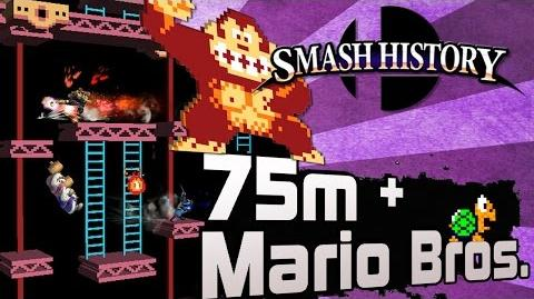 Smash History 75m and Mario Bros. (Super Smash Bros 3DS and Wii U Stage Analysis)