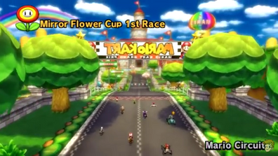 Mario Circuit (Wii, Mirror Mode)