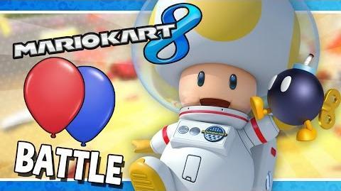 Battle Mode Bob-Omb Battle Mario Kart 8