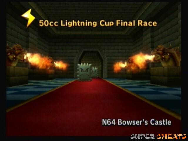 Add Cash Network Guide Mario Kart Wii Bowser Castle N64