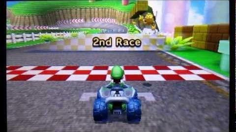 Let's Play Mario Kart 7 - Part 2 50cc Flower Cup