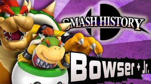Smash History Bowser + Bowser Jr. (Super Smash Bros 3DS and Wii U Move Analysis)