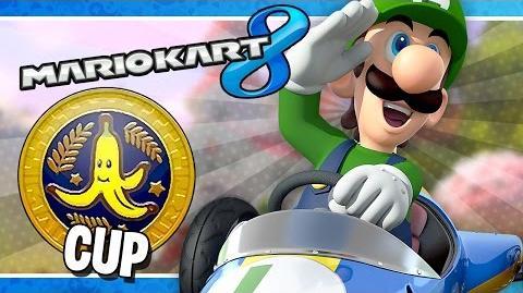 Banana Cup 150cc Mario Kart 8