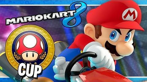 Mushroom Cup 150cc Mario Kart 8