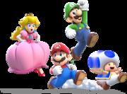 180px-Main Crew Artwork (alt) - Super Mario 3D World