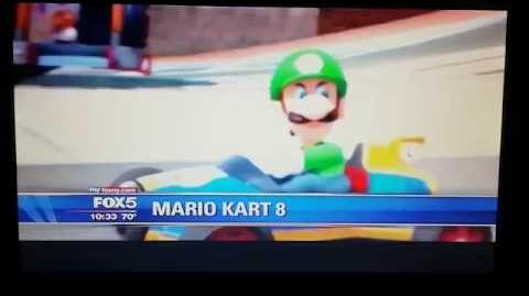 "Mario Kart 8 - Luigi ""Death Stare"" on Fox News!"