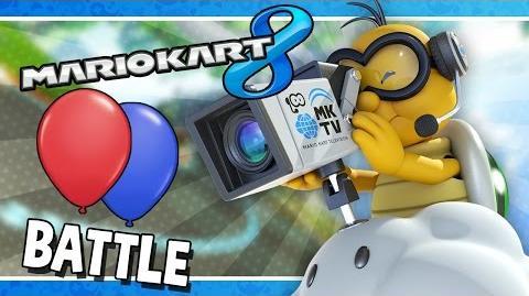 Battle Mode Frantic Battle Mario Kart 8