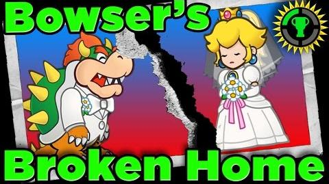 Game Theory Bowser's BROKEN HOME in Super Mario