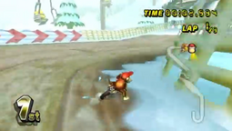 Diddy Kong (Drifting on DK Summit)