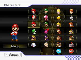 Character Mario Kart Wii Wiki Fandom