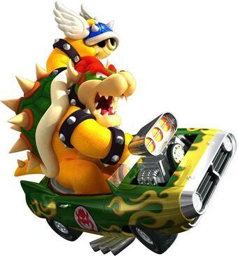 Bowser Mario Kart Wii Wiki Fandom