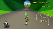 Yoshi and King Boo (Mario Raceway)
