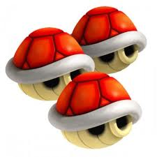 3 red shells