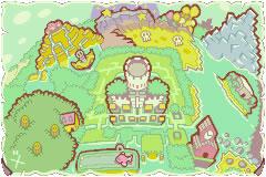 Beanbean Kingdom Map