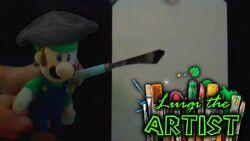Luigi the artist