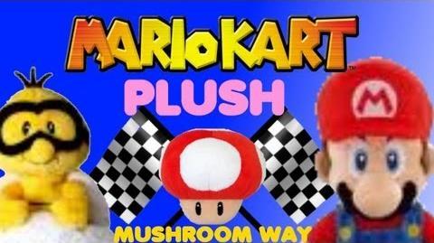 Mario Kart Plush - Mushroom Way